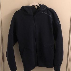 Adidas stadium zip up hoodie